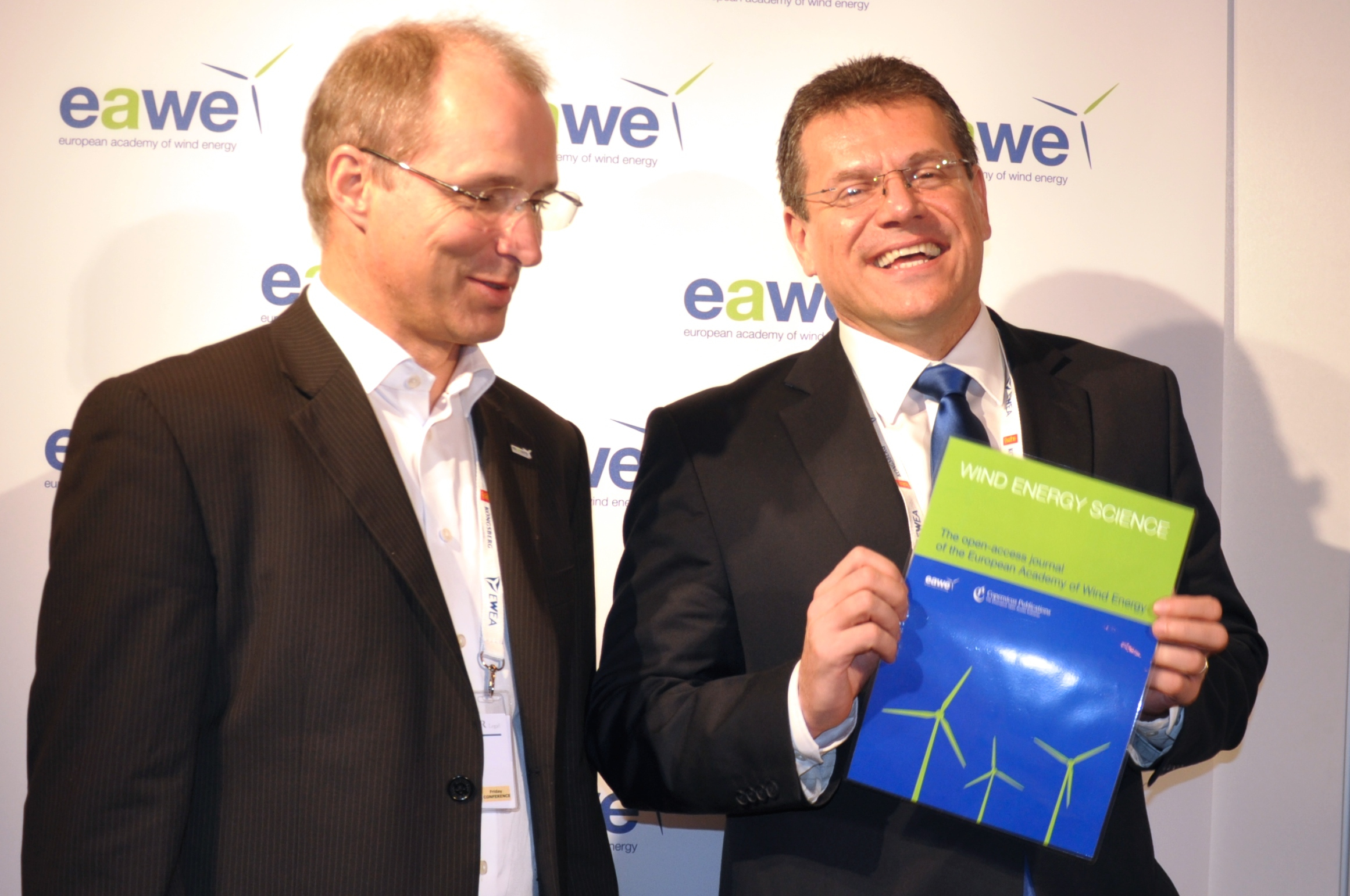EWEA 2015 event in Paris.